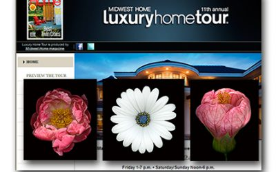DESIGNER JANIS DEAN FEATURES NIGHTFLOWERS IN THE MIDWEST LUXURY HOME TOUR