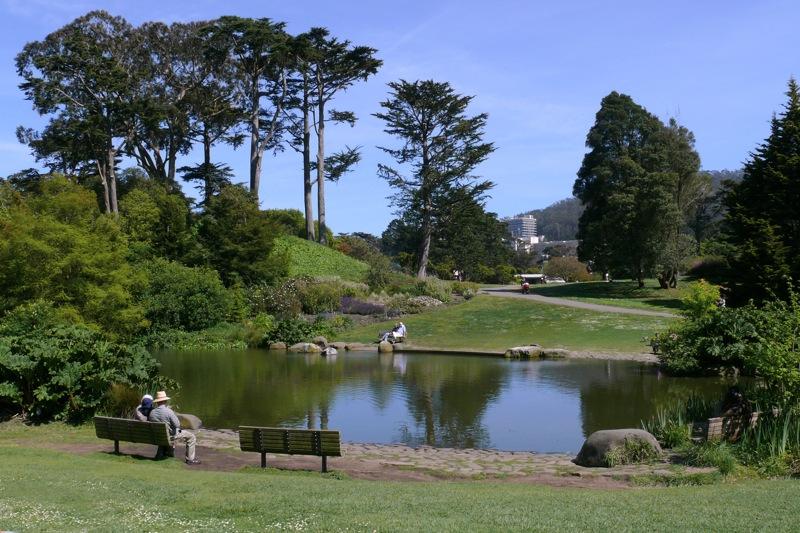 DAVID LEASER LECTURES AT SAN FRANCISCO BOTANICAL GARDEN